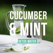 tonic-weight-loss-detox-water-cucmber-and-mint