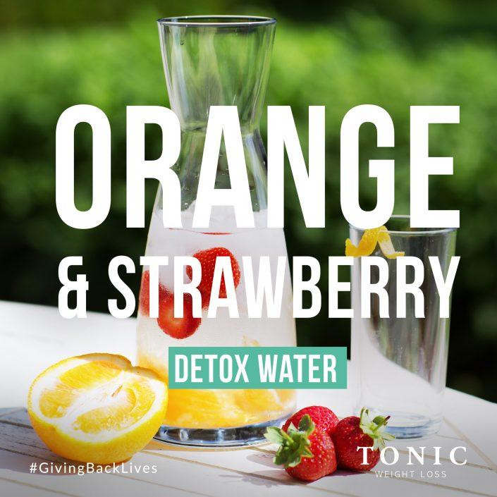 DetoxWater-Orange-and-Strawberry-Health-Tonic-Weightloss