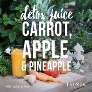 Detox-juice-carrot-apple-pineapple